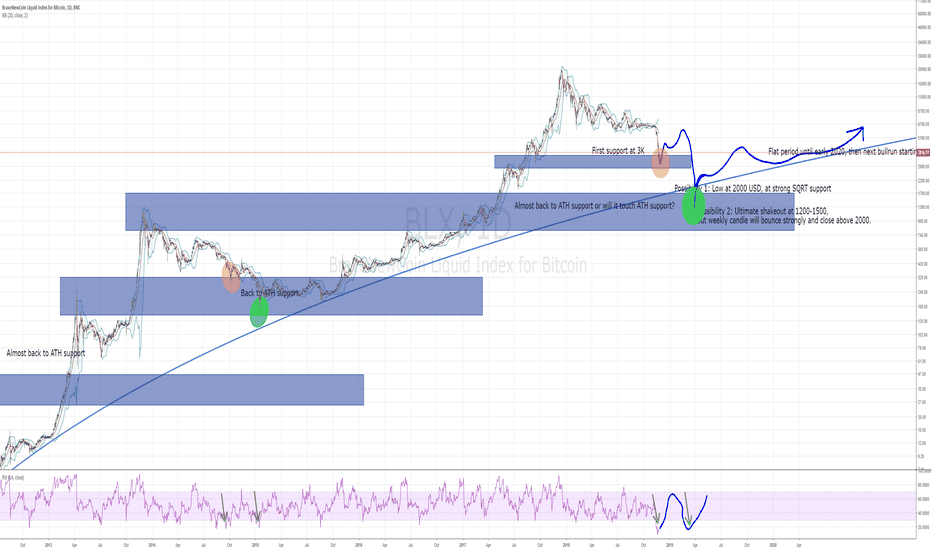 BLX: Bitcoin has chosen! Now: How low will it go?