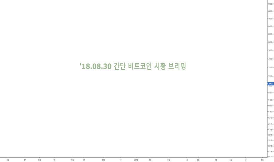 BTCUSD: '18.08.30 간단 비트코인 시황 브리핑 : 단기 조정