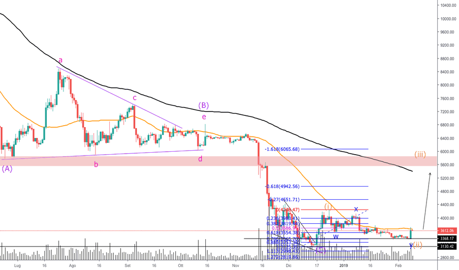 BTCUSD: POSSIBILE IDEA LONG SU BTCUSD