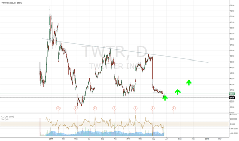 TWTR: TWTR bounces of support after earnings sell off