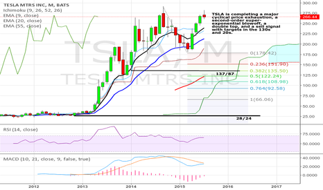 TSLA: TSLA is completing a major cyclical top.