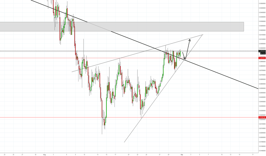 DGBUSD: Digibyte Wedge..