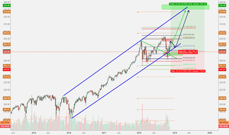 SPY: 2018 - 2019 Mr. Freeze Rally Coming in US Stocks