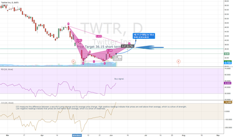 TWTR: TWTR Short Term / Long Term Chart