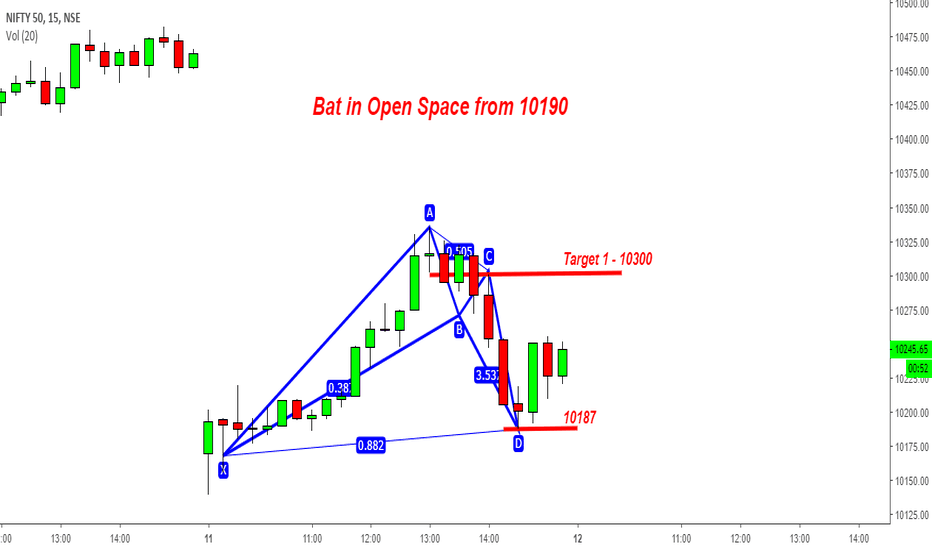 NIFTY: Nifty - Bat in the Open Space from 10187