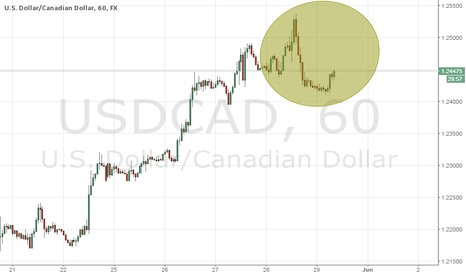 USDCAD: BAD Prelim GDP q/q (USD) And Good GDP m/m (CAD)