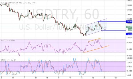 USDTRY: Dolar / Türk Lirası - Saatlik