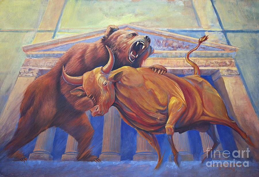 картинки бык и медведь еще нравится раздевалка