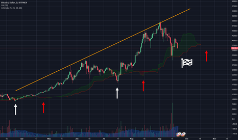 BTCUSD: $BTC/ DAIlY CHART - Short Term bearish - getting ready for rally