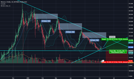 XMRUSD: XMR bottomed. Probable bull run in sight