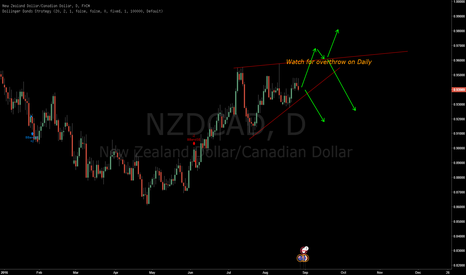 NZDCAD: NZDCAD Setup on possible daily wedge