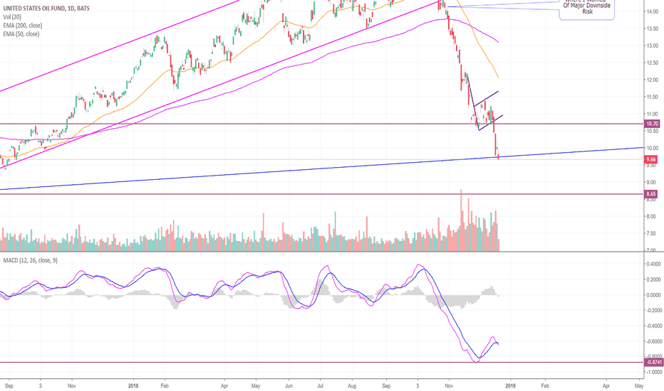 USO: After an Epic Fall, Oil is Testing Major Rising Support! (USO)