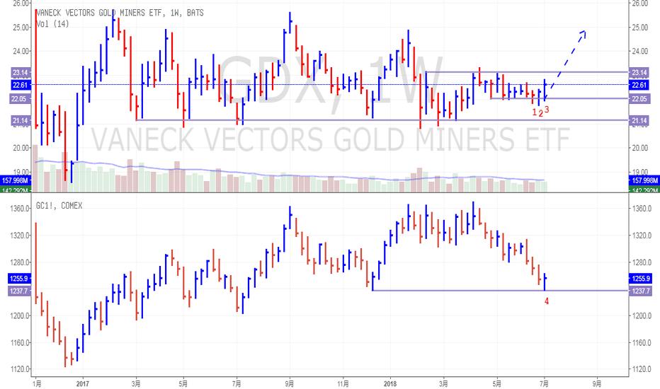 GDX: 黄金很可能上涨