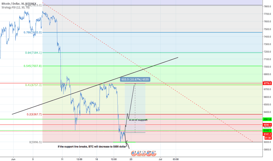 BTCUSD: BTCUSD Chart.. What if the support bounce