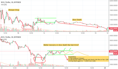 """BCHUSD: BCH- The Market Breaker.""""Remember Remember the 12th of November"""