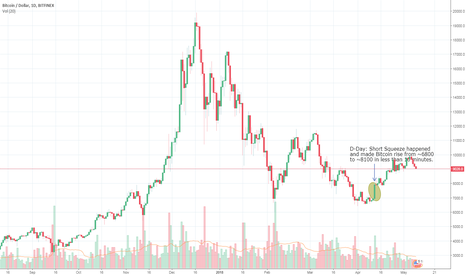 "BTCUSD: ""What if?"" scenario. What if a Short Squeeze hadn't taken place?"
