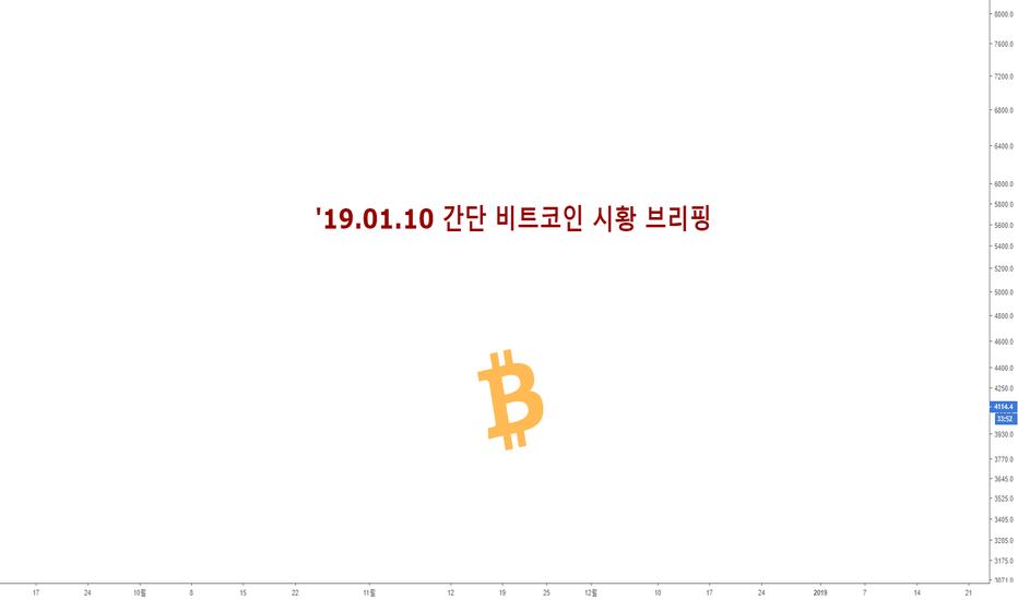 BTCUSD: '19.01.10 간단 비트코인 시황 브리핑