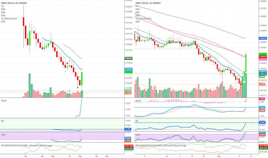 NANOBTC: NANO Started To Bounce (New Uptrend Forming) by Alan Masters