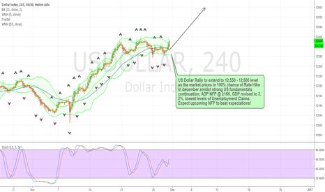 USDOLLAR: US Dollar 100% Rate Hike Pricing