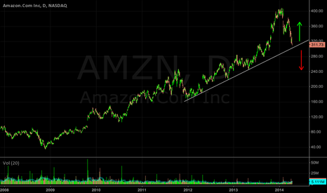 AMZN: AMZN: A 10,000 ft flyby of possible support area,