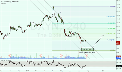 DXYN: Looking for a Dixie Group Bottom