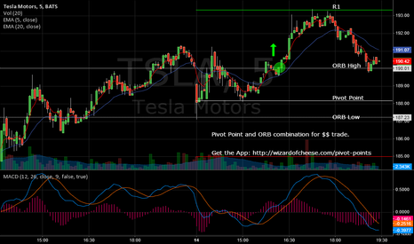 TSLA: TSLA - Play the Pivots and ORB