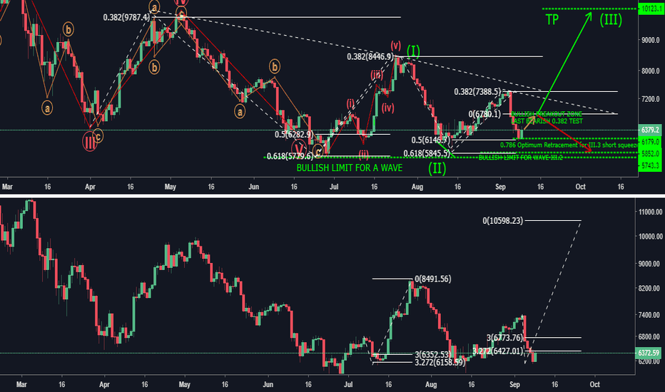 BTCUSD: Elliott Wave - A Dim Light At The End of The World