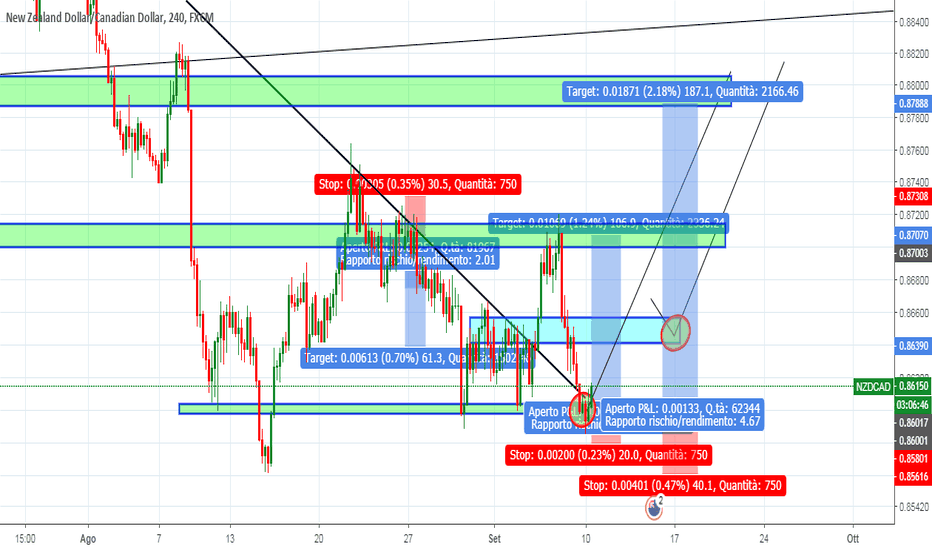 NZDCAD: nzdcad break and ritest a rialzo