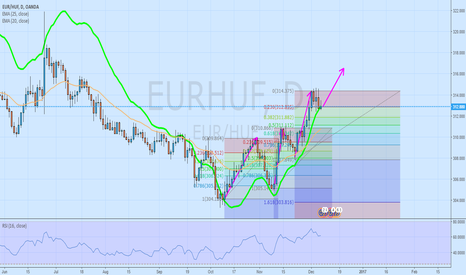 EURHUF: 4th step up