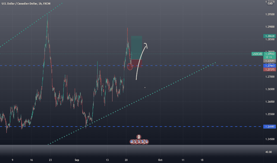 usdcad Long position