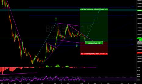BCCBTC: Bitcoin Cash Scalp the correction. Advanced Setup.