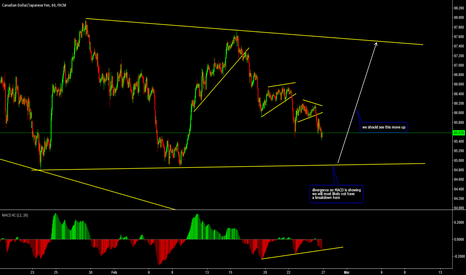 CADJPY: CADJPY Move Up