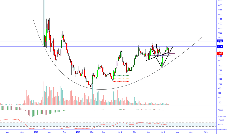 BHC: $BHC weekly just a healthy correction to support