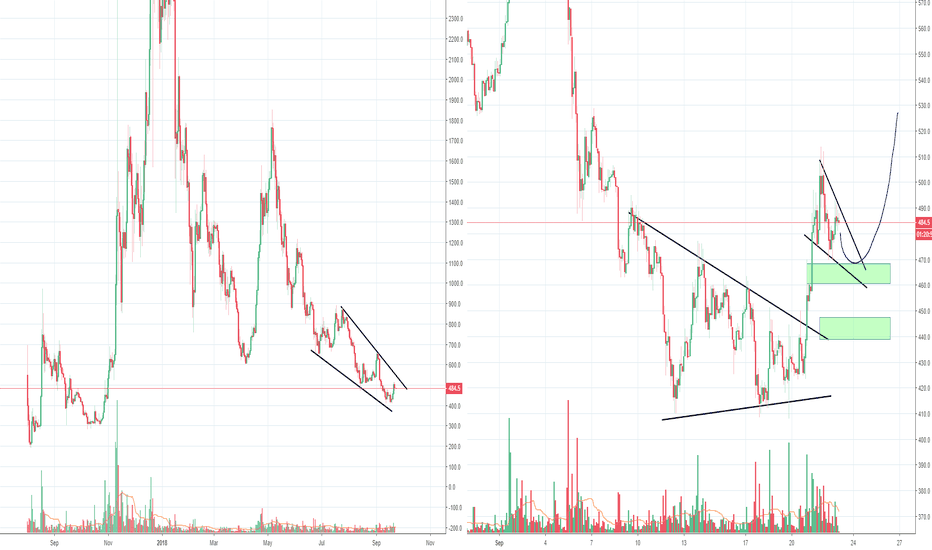 BCHUSD: BCH seems to have formed a possible bottom formation