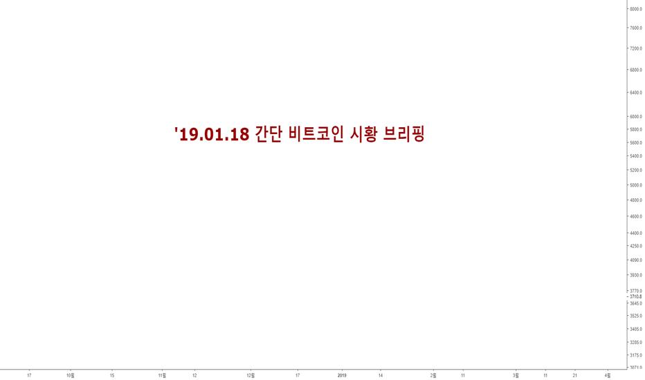 BTCUSD: 19.01.18 간단 비트코인 시황 브리핑