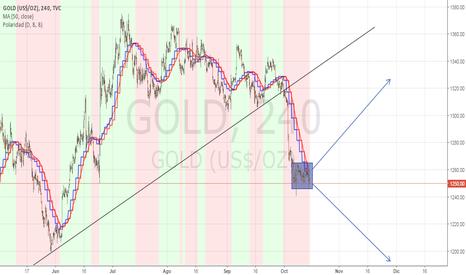 GOLD: Mirando con cuidado al oro Cualquier rato puede romper.