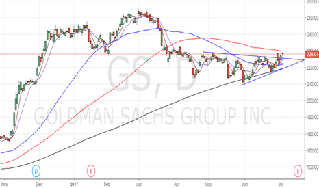 GS: Buy Goldman Sachs for 240-250