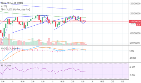 BTCUSDT: Following BTC, looking bearish.