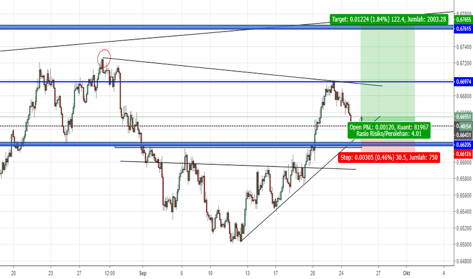 NZDUSD: KIWI DOLLAR  LONG SETUP