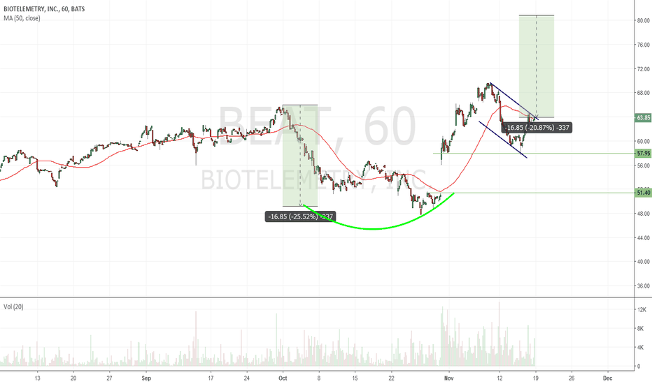 BEAT: $BEAT the trend? messy but decent