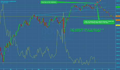 DOWI: Dow Jones - Long Term Scenario (Trading Plan)