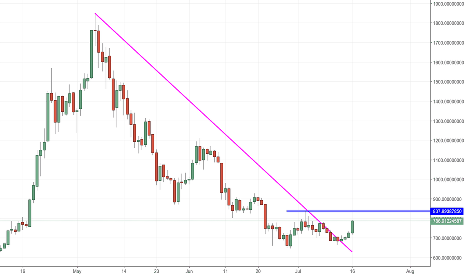 BCHUSDT: BCH-USD bull cycle of the monster is back