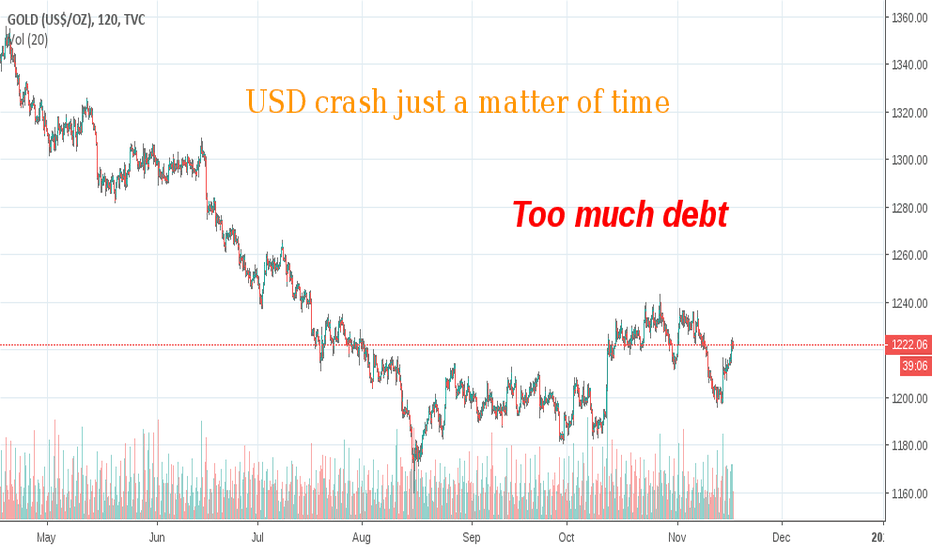 GOLD: Gold will rise on fears of USD instability