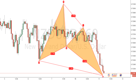 NZDUSD: Bullish Butterfly