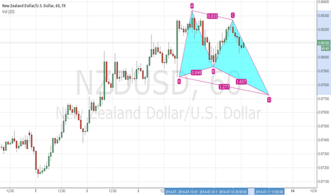 NZDUSD: nzd usd bullish butterfly