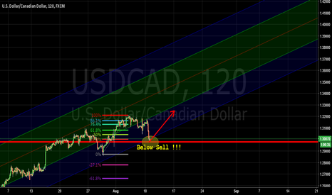 USDCAD: Bit of Both - Long or Short