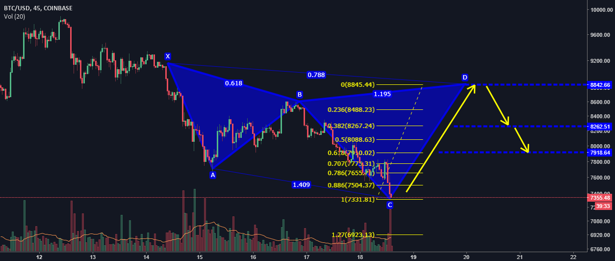 The last hope for the bulls in BTC