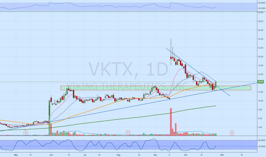 VKTX: VKTX  Worth a look