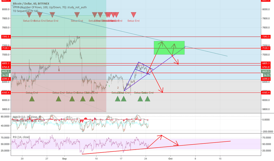 BTCUSD: Bitcoin Completing 4th Wave - Waiting for 5th Final Wave.