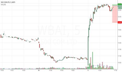 WBAI: Short $WBAI